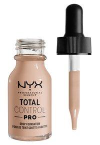 Nyx Professional Makeup - TOTAL CONTROL PRO DROP FOUNDATION - Foundation - porcelain - 1