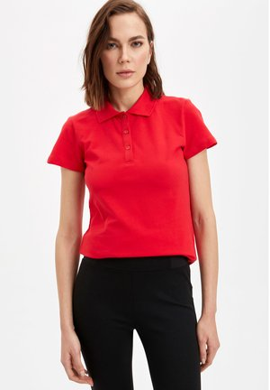 DEFACTO  WOMAN  - Polo - red