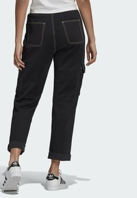 adidas Originals - PANTS - Cargo trousers - black - 1