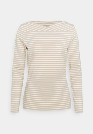Long sleeved top - sand
