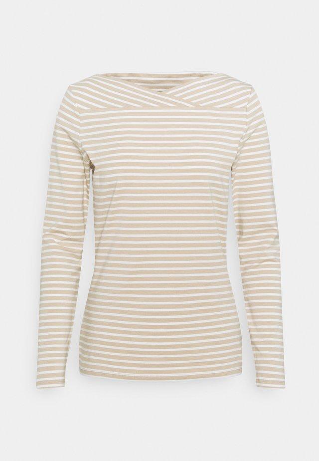 Camiseta de manga larga - sand