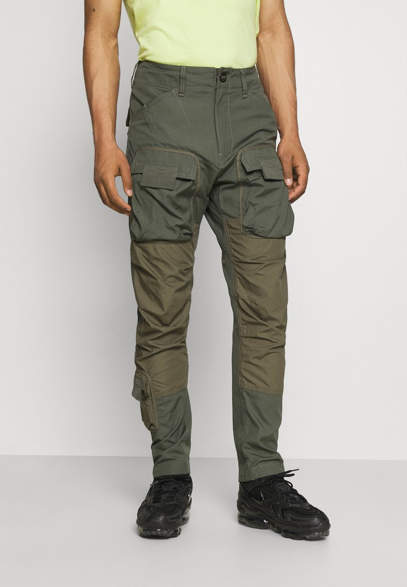 G-Star - Cargo trousers - vintage ripstop/wild rovic