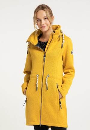 Short coat - curry melange