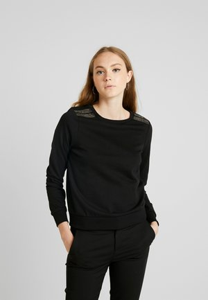 ONLPUTTE O-NECK - Sweatshirt - black
