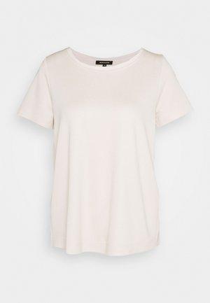 Basic T-shirt - powder creme