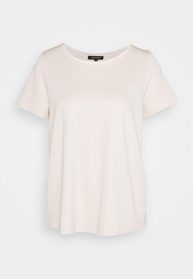T-shirt - bas - powder creme
