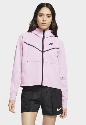 Zip-up hoodie - beyond pink/black