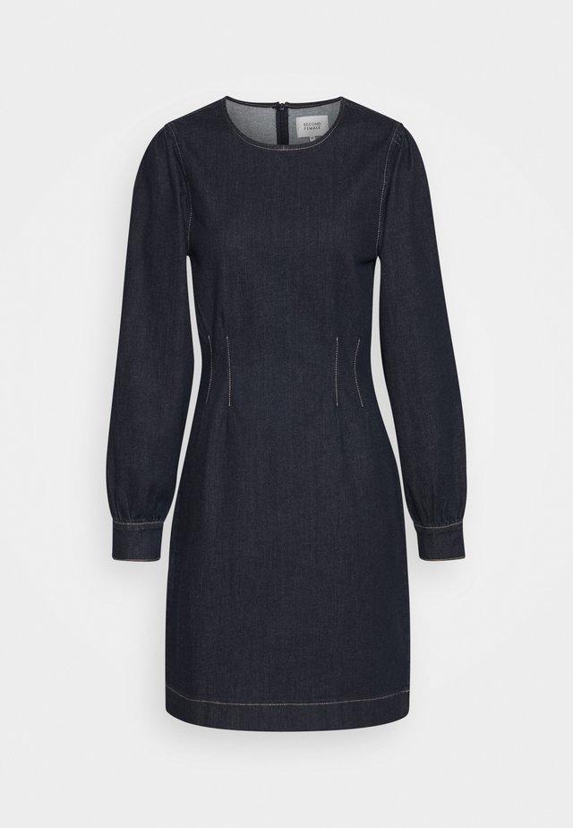 ANTOINET DRESS - Denim dress - dark blue denim