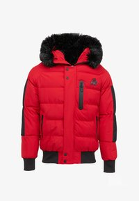 Kings Will Dream - BROMLEY PUFFER BOMBER JACKET - Viegla jaka - red - 5