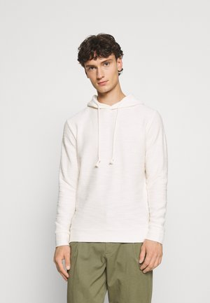 JJSHELBYS HOOD - Sweatshirt - blanc de blanc