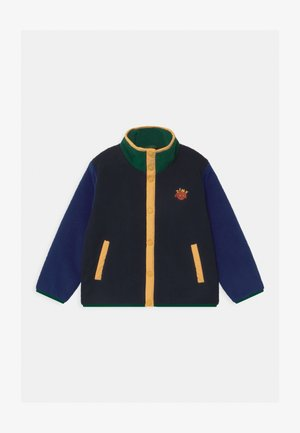 COLOR BLOCK POLAR UNISEX - Winter jacket - navy/blue