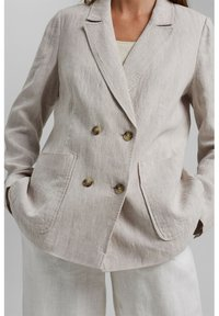 Esprit - Short coat - light beige - 3