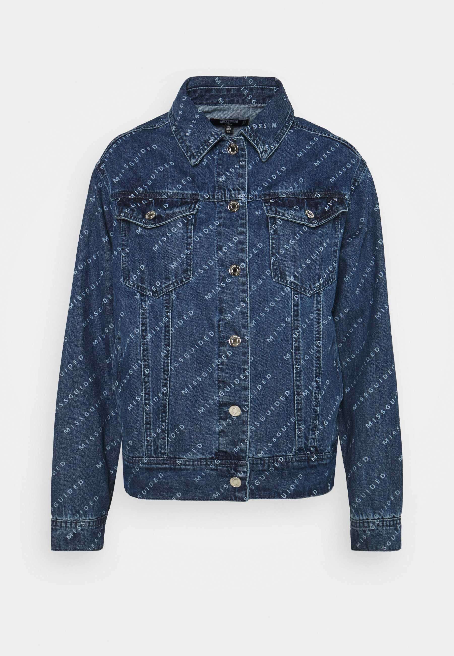 Women PRINT JACKET - Denim jacket