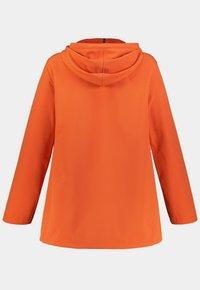 Ulla Popken - Soft shell jacket - manderine - 2