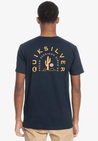 Quiksilver - Print T-shirt - navy blazer - 0