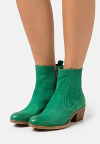 MJUS - DALLAS DALLY - Cowboy/biker ankle boot - patrick - 0