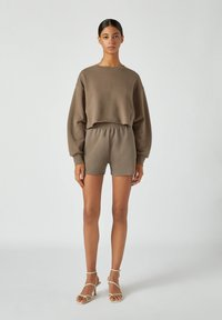 PULL&BEAR - Shorts - brown - 1