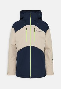 Columbia - PEAK DIVIDE JACKET - Giacca da sci - collegiate navy/ancient fossil - 0