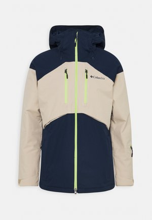 PEAK DIVIDE JACKET - Lyžařská bunda - collegiate navy/ancient fossil