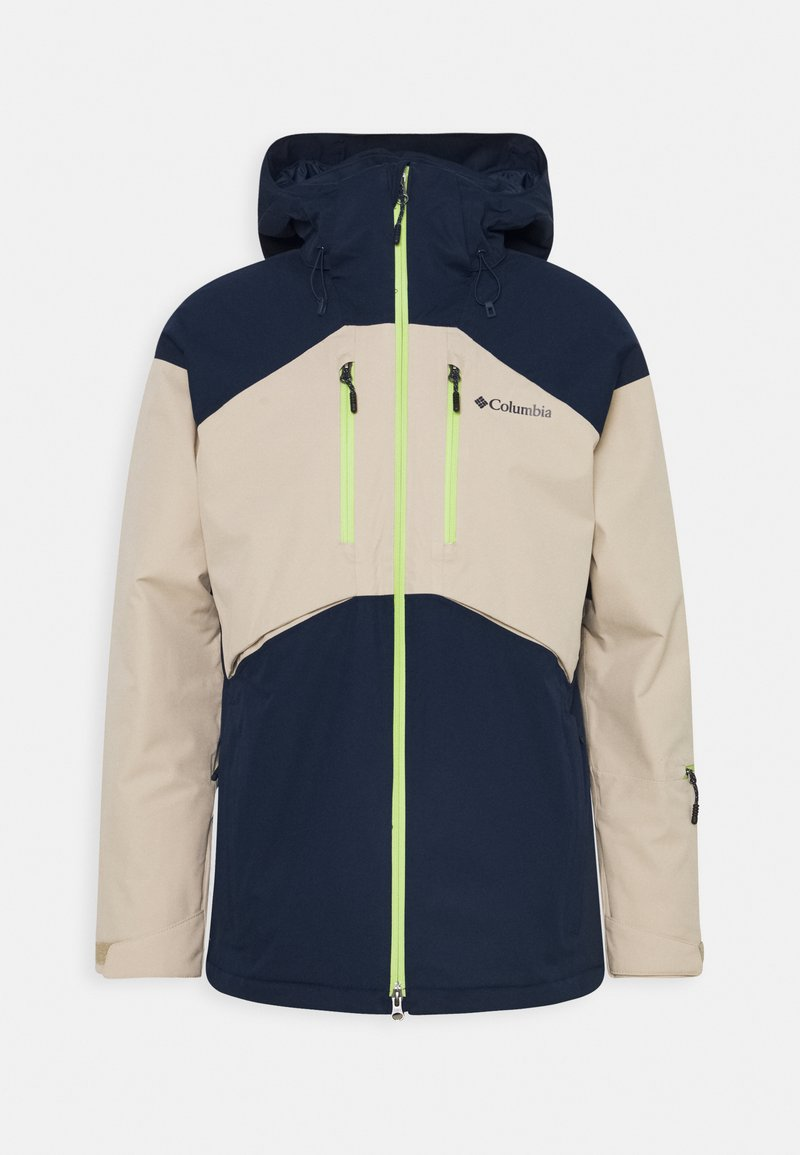 Columbia - PEAK DIVIDE JACKET - Giacca da sci - collegiate navy/ancient fossil