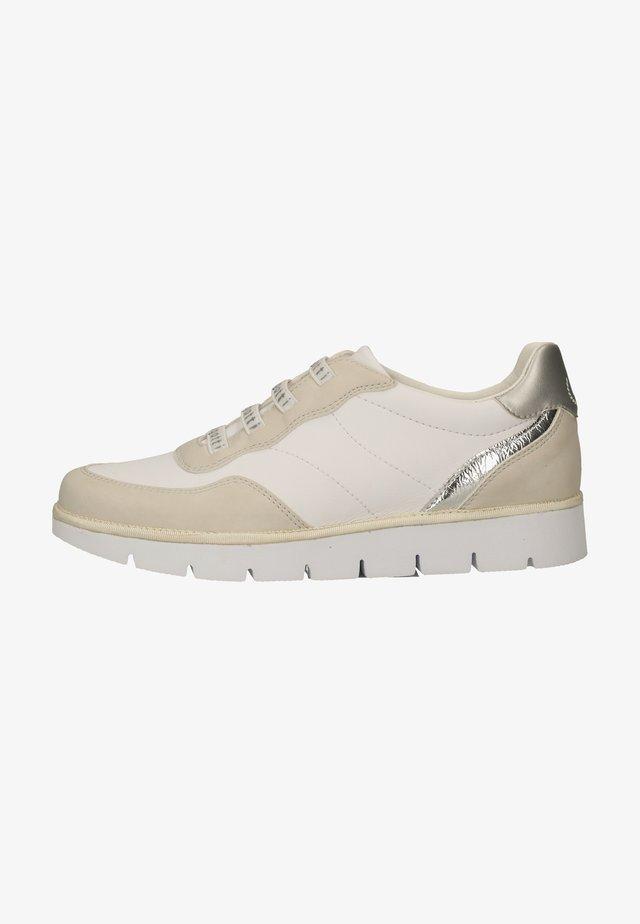 Sneakers laag - beige/white