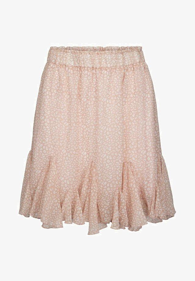 FLORAL  - A-linjekjol - pink