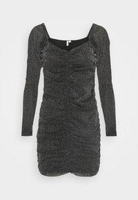 Nly by Nelly - SPARKLE MINI DRESS - Cocktail dress / Party dress - black - 0
