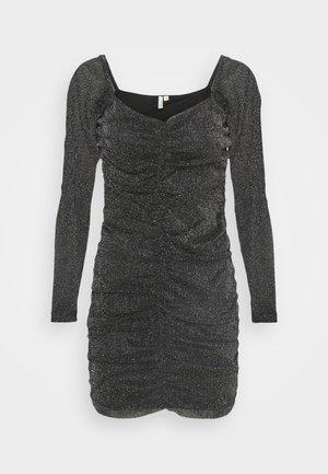 SPARKLE MINI DRESS - Vestido de cóctel - black