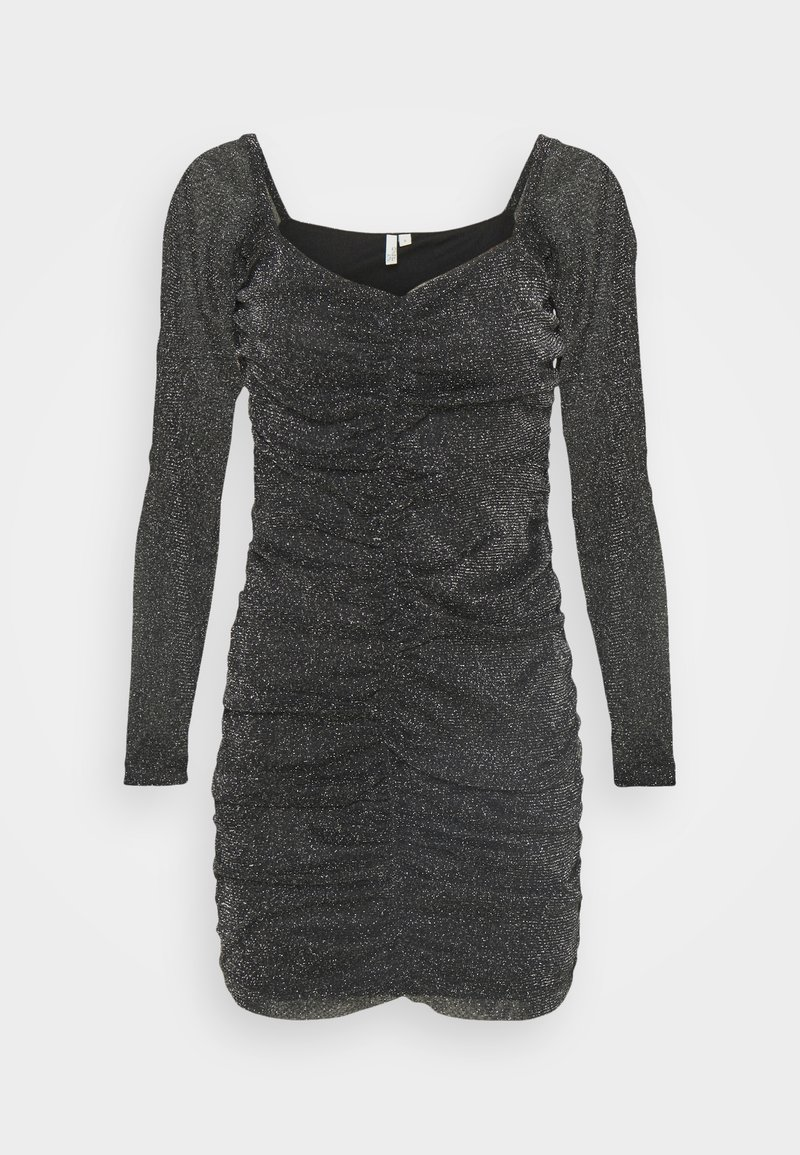 Nly by Nelly - SPARKLE MINI DRESS - Cocktail dress / Party dress - black
