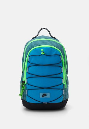 HAYWARD UNISEX - Rugzak - dark teal green/laser blue/black