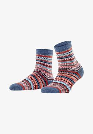 Socks - dark blue mel.