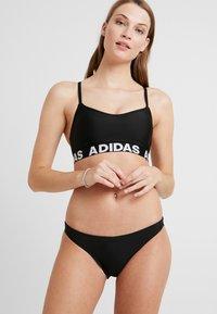 adidas Performance - BRANDED SET - Bikini - black - 1