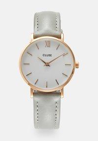 Cluse - MINUIT - Klokke - rose gold-coloured/white/grey - 0