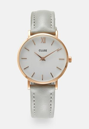 MINUIT - Hodinky - rose gold-coloured/white/grey