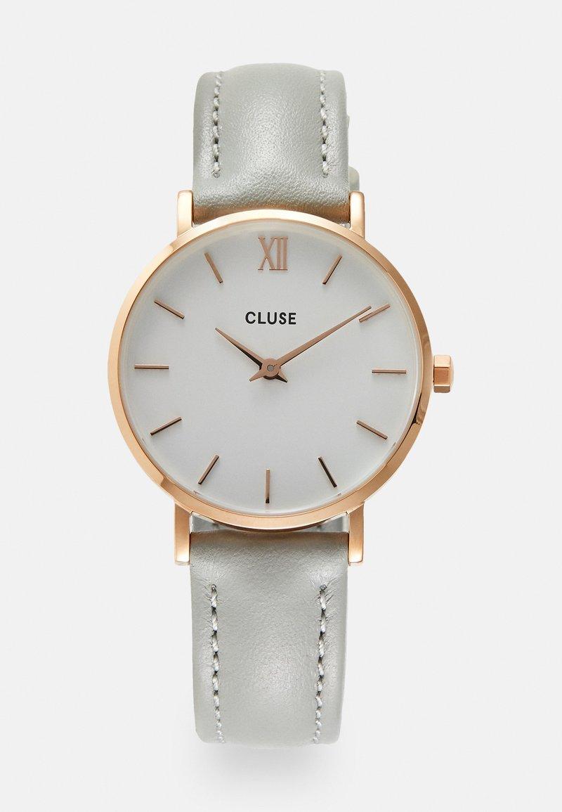 Cluse - MINUIT - Klokke - rose gold-coloured/white/grey
