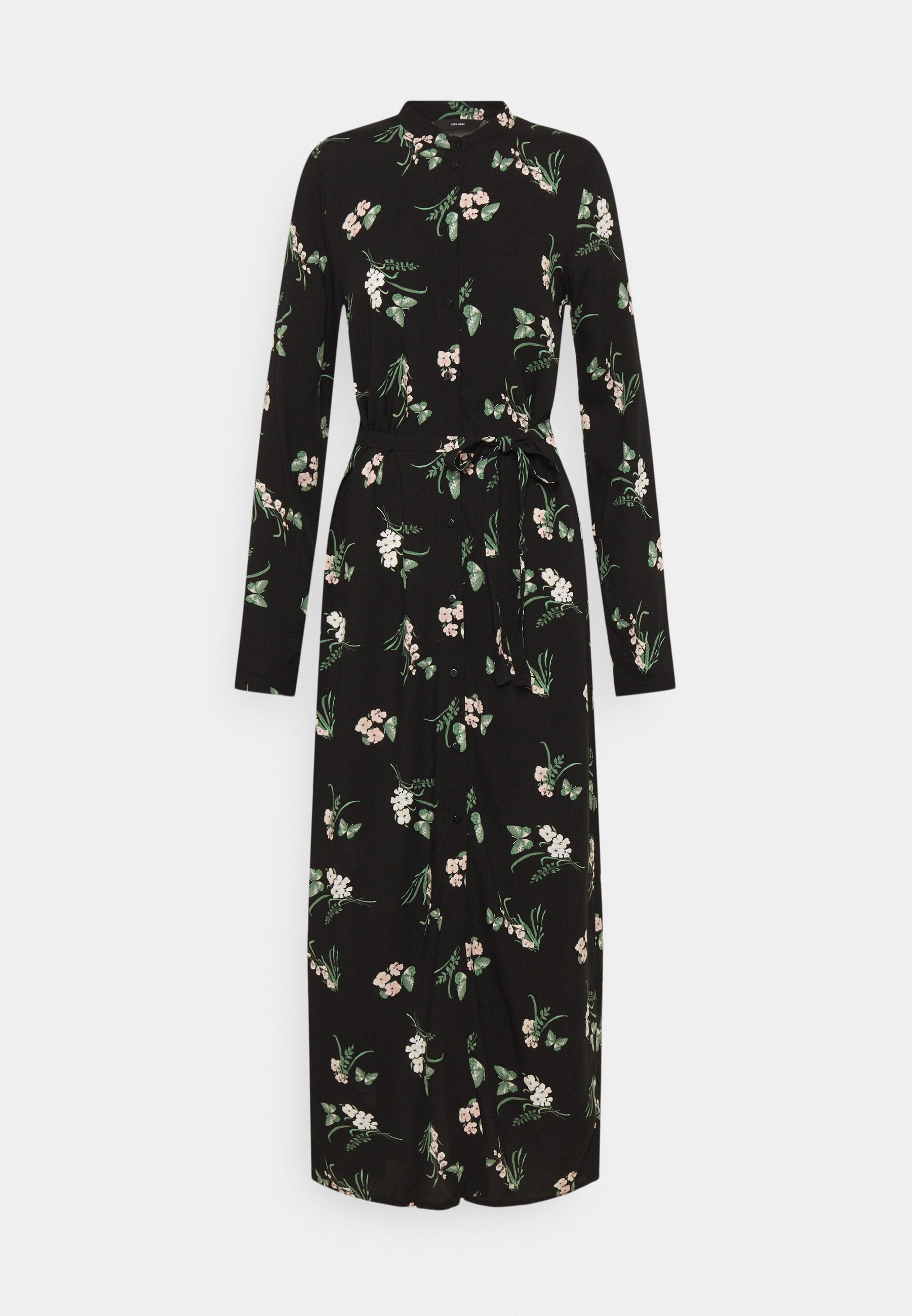 Women VMSIMPLY EASY LONG SHIRT DRESS - Maxi dress