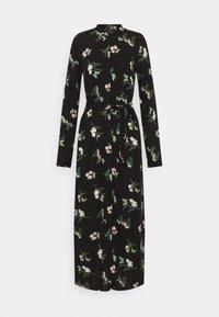 Vero Moda Tall - VMSIMPLY EASY LONG SHIRT DRESS - Maxi dress - black - 0