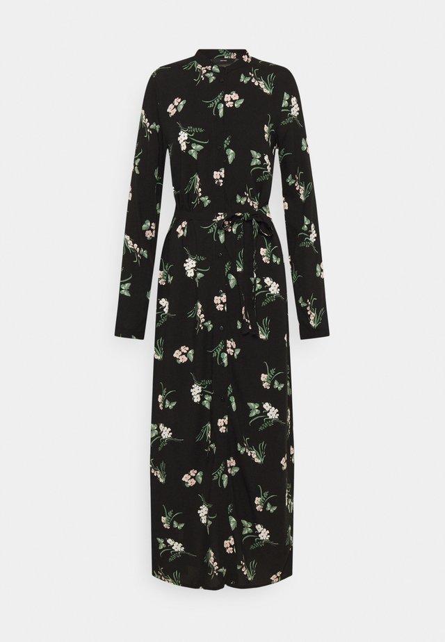 VMSIMPLY EASY LONG SHIRT DRESS - Robe longue - black