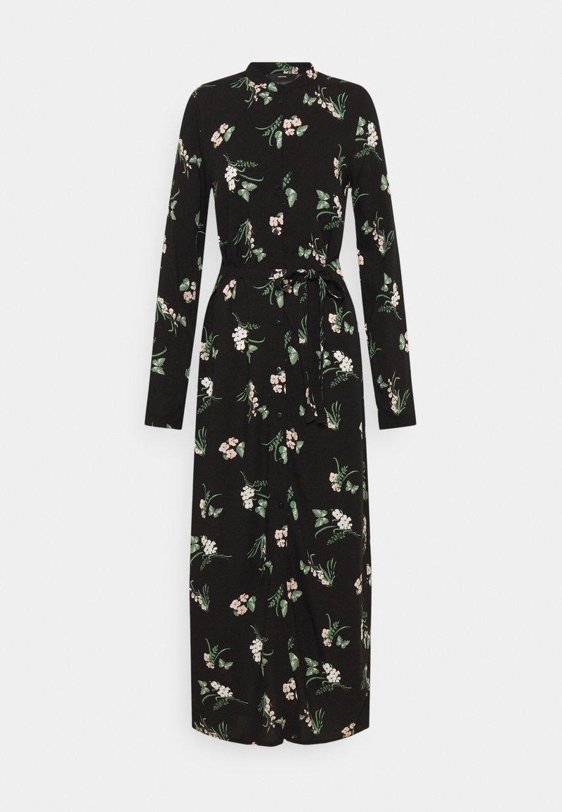 Vero Moda Tall - VMSIMPLY EASY LONG SHIRT DRESS - Maxi dress - black