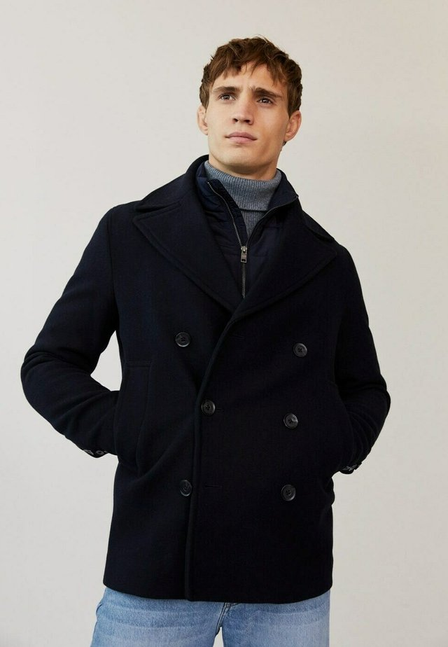 MODRONE-I - Abrigo corto - dunkles marineblau