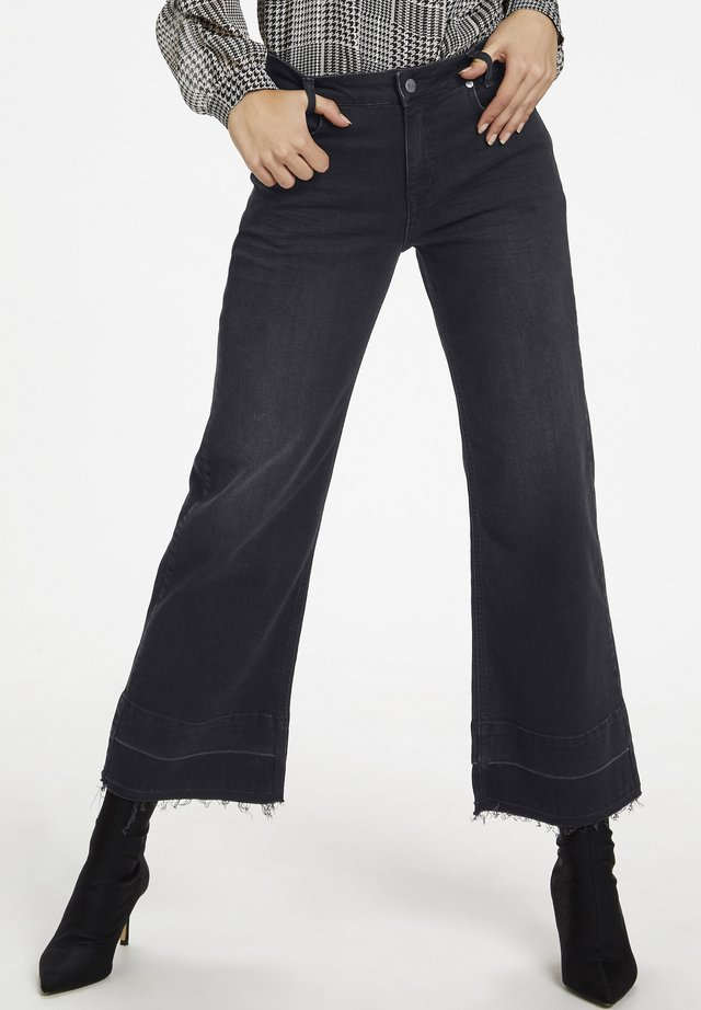 DHACE - Flared Jeans - black