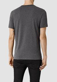 AllSaints - BRACE - Basic T-shirt - charcoal marl - 1