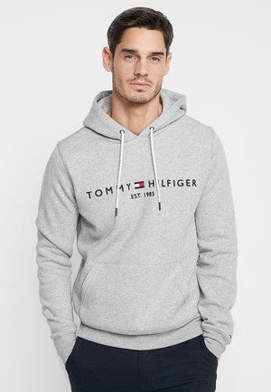 LOGO HOODY - Sweat à capuche - grey