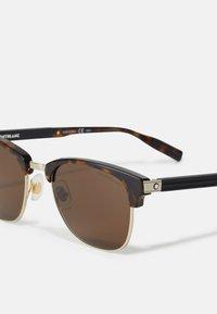Mont Blanc - UNISEX - Sunglasses - havana/brown - 2