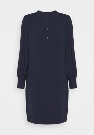 PLACKET SHIFT - Day dress - dark blue