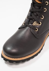 Panama Jack - IGLOO TRAVELLING - Lace-up ankle boots - black - 6