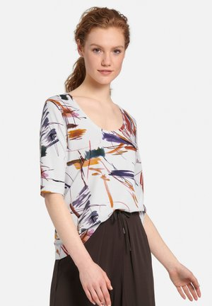 T-shirt print - weiß/multicolor