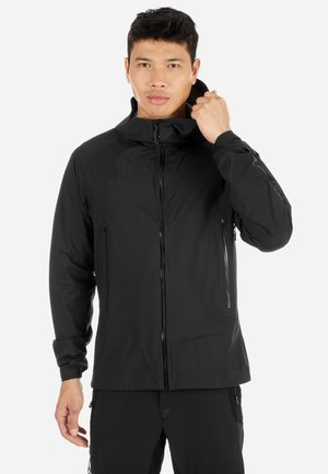 MASAO - Waterproof jacket - black-phantom