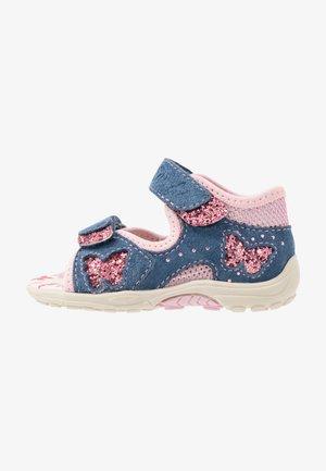 MARZIA - Sandals - jeans/rose