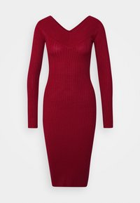 Even&Odd - JUMPER DRESS - Shift dress - red - 4